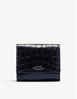 Smythson Mara continental leather purse