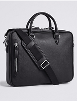 M&s Collection Saffiano Laptop Bag