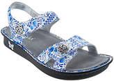 Alegria Leather Adjustable Sandals - Vienna
