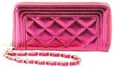 Charlotte Russe Quilted Wristlet Wallet