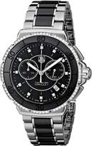 Tag Heuer Women's Formula One Diamond Chronograph Watch Black CAH1212.BA0862