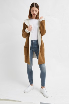 French Connection Gemini Knit Hooded Cardigan