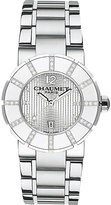 Chaumet W1762533F Class One stainless steel and diamond watch
