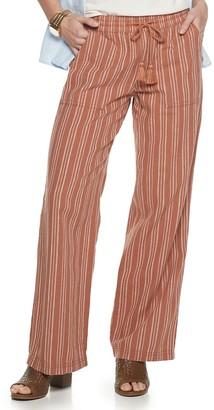 Sonoma Goods For Life Women's Linen-Blend Pants