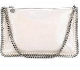 Stella McCartney top zip clutch - women - Polyester - One Size