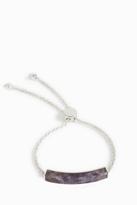 Monica Vinader Linear Stone Chain Bracelet