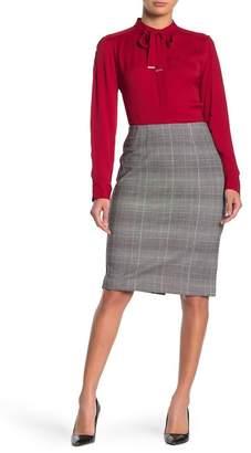 Amanda & Chelsea Ponte Knit Pencil Skirt
