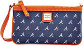 Dooney & Bourke Atlanta Braves Large Wristlet