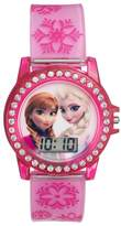 Disney Disney's Frozen Elsa & Anna Kids' Digital Light-Up Watch