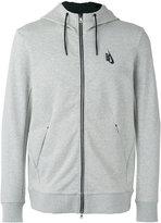 Nike essentials fleece FZ hoodie - men - Cotton/Polyester/Spandex/Elastane/Viscose - S