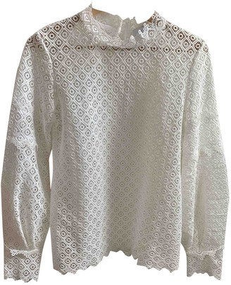 IRO White Lace Tops