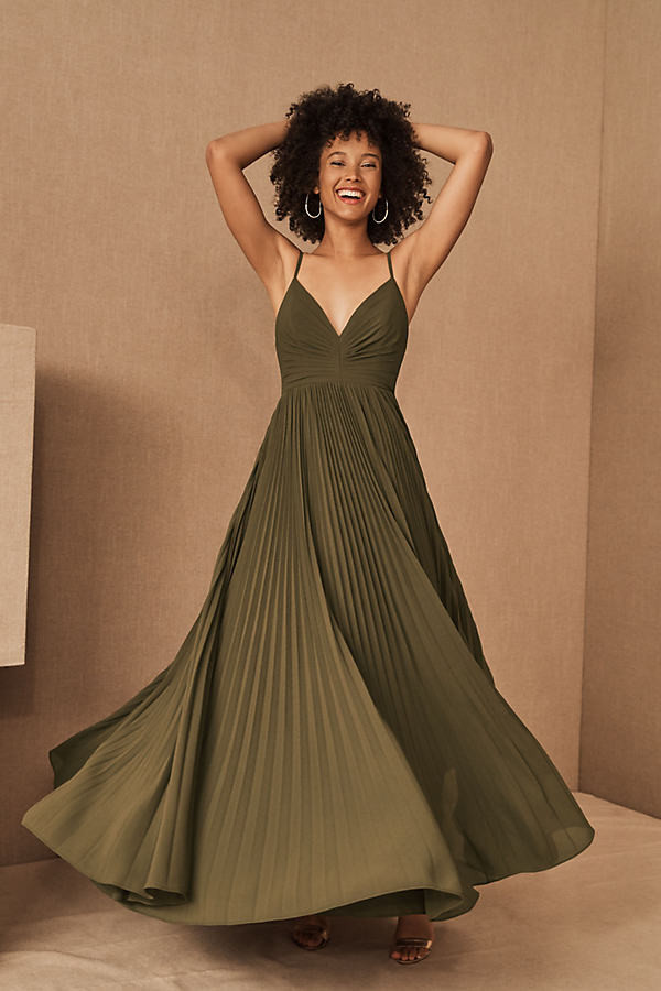 Fame & Partners Quinn Dress By in Green Size 4