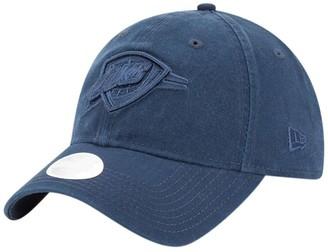 New Era Women's Navy Oklahoma City Thunder Core Classic Tonal Team 9TWENTY Adjustable Hat