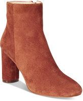 INC International Concepts Women's Taytee Block-Heel Booties, Only at Macy's