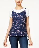 Ultra Flirt Juniors' Layered-Look T-Shirt