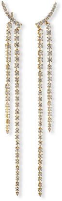 Fern Freeman Jewelry 18k Diamond Double Dangle Earrings