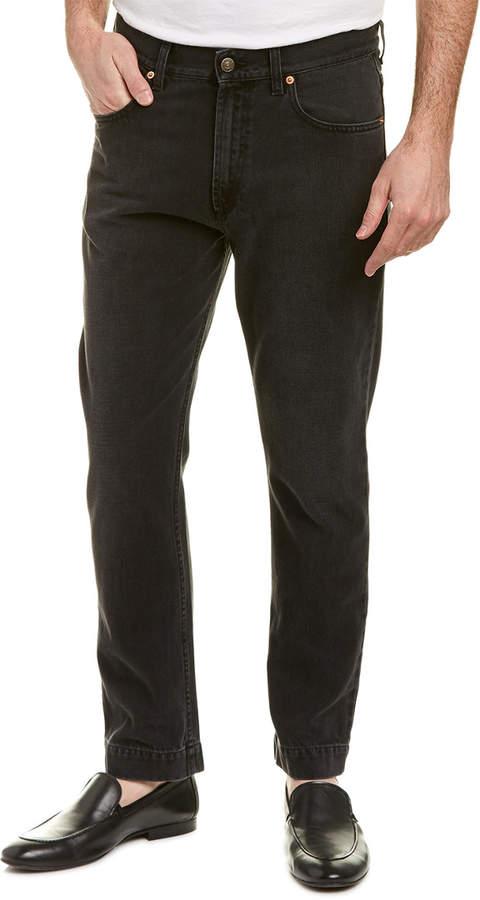 Gucci 60'S Fit Straight Leg Jean