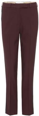 Etro Wool-crepe tuxedo trousers
