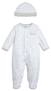 Little Me Unisex Star Print Footie & Cap Set Baby - 100% Exclusive
