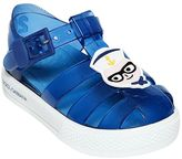 Dolce & Gabbana Designers Patches Rubber Sandals