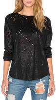 Generation Love Jocelyn Foil Linen Long Sleeve