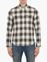 Maison Margiela Checked Cotton Shirt