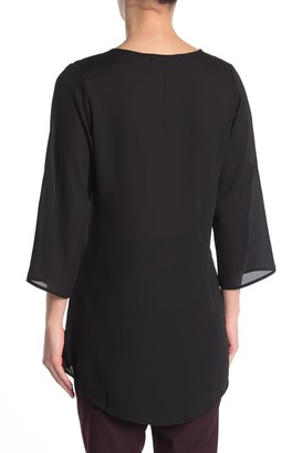 19 Cooper Split Neck Tunic Dress