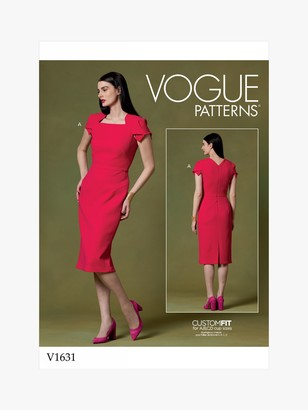 Vogue Women's Bodycon Dress Sewing Pattern, 1631