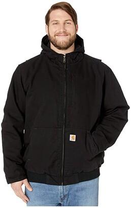Carhartt Big Tall Full Swing Armstrong Active Jacket (Black 1) Men's Coat