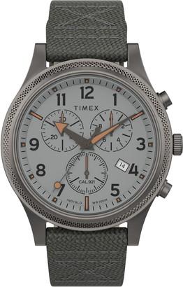 Timex Allied LT Chronograph Nylon Strap Watch, 42mm