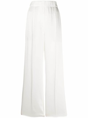 Brunello Cucinelli High-Waisted Wide Leg Trouers