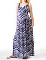 A Pea in the Pod Sleeveless Empire Waist Maternity Maxi Dress