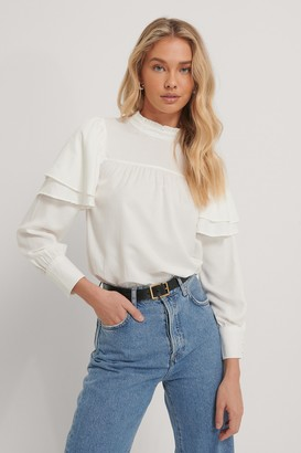 Trendyol Gathered Blouse