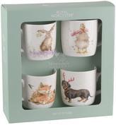 Portmeirion Wrendale Christmas Mugs