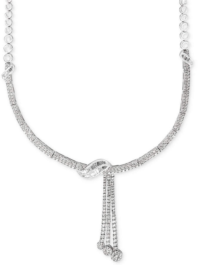 Effy Classique by Diamond Lariat Necklace (4-1/8 ct. t.w.) in 14k White Gold
