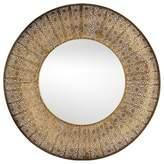 Ren Wil Ren-Wil Aristo 28.75-Inch Round Mirror in Gold
