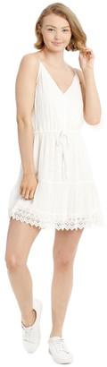 Miss Shop Dobby Spot Dress