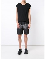 Alexander Wang scribble print swim shorts
