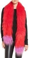 Jocelyn Women's Genuine Tibetan Lamb Fur Scarf