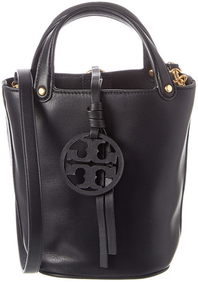 Tory Burch Miller Mini Leather Bucket Bag