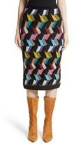 Missoni Women's Multi Knit Pencil Skirt