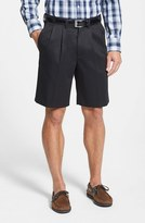Nordstrom Men's Smartcare(TM) Pleated Shorts