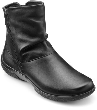 Hotter Whisper Wide Fit Casual Boots With Warm Lining