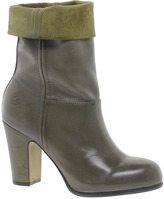 Bronx Mid Calf Leather Boots