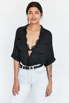 Silence & Noise Silence + Noise Joey Button-Down Shirt
