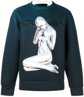 Juun.J x Hajime Sorayama sweatshirt - men - Polyester/Polyurethane - 44
