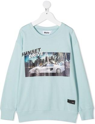 Molo Murphy graphic print sweatshirt