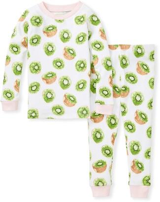 Burt's Bees Kiwi Snug Fit Organic Baby Pajamas