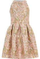 River Island Girls Pink floral brocade prom dress