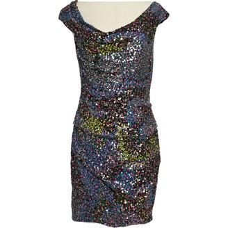 Jenny Packham Multicolour Polyester Dresses